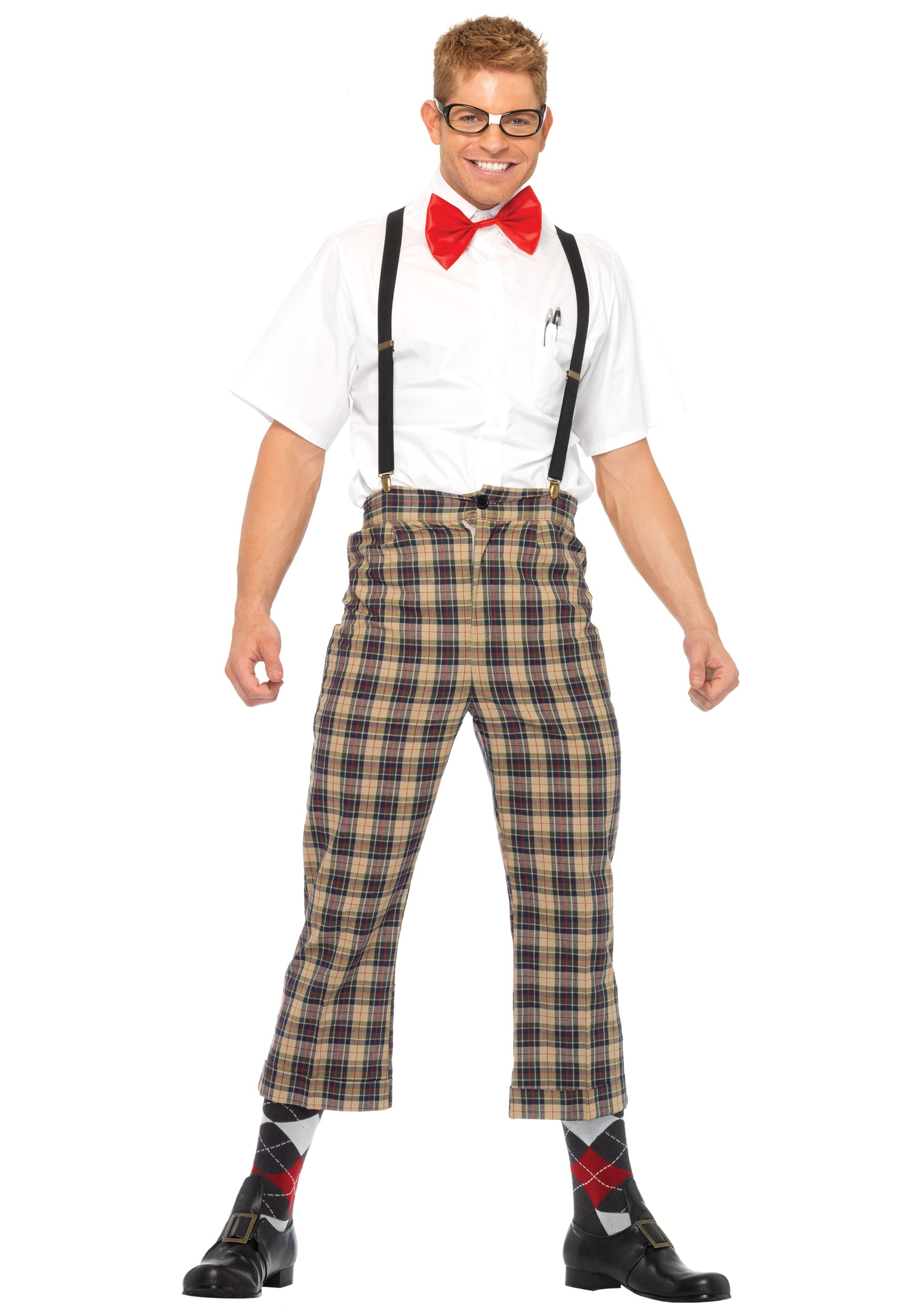 Mens Nerdy Geek Costume - Funny Nerd Costumes for Adults