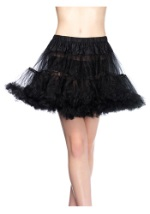 Plus Size Black Witch Petticoat