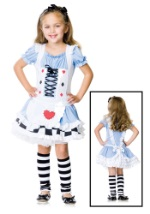 Miss Wonderland Girls Costume