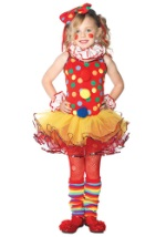 Child Tutu Circus Clown Costume