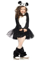 Girls Perfect Panda Bear Costume