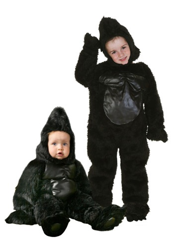 Deluxe Infant Gorilla Costume