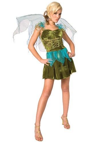 Sexy Green Fairy Costume