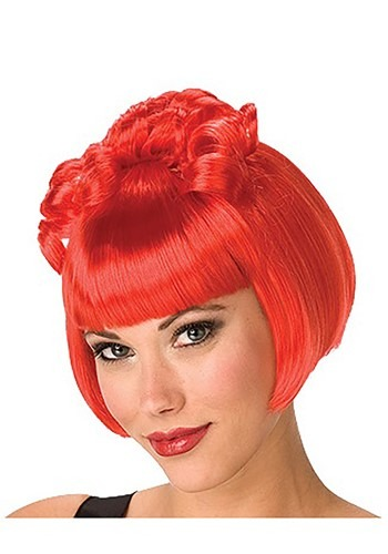 Women's Gothic Red Wig