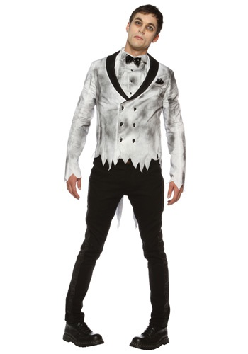 Mens Zombie Groom Costume