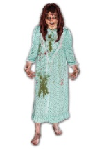 Scary The Exorcist Regan Costume w/ Wig