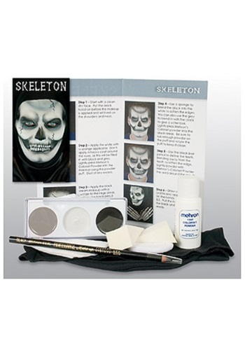 Deluxe Skeleton Makeup Kit