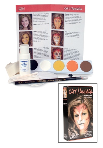 Professional Cat Makeup Kit