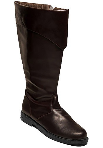 Men's Brown Costume Boots