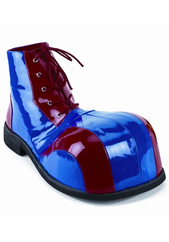 Blue & Red Clown Shoes
