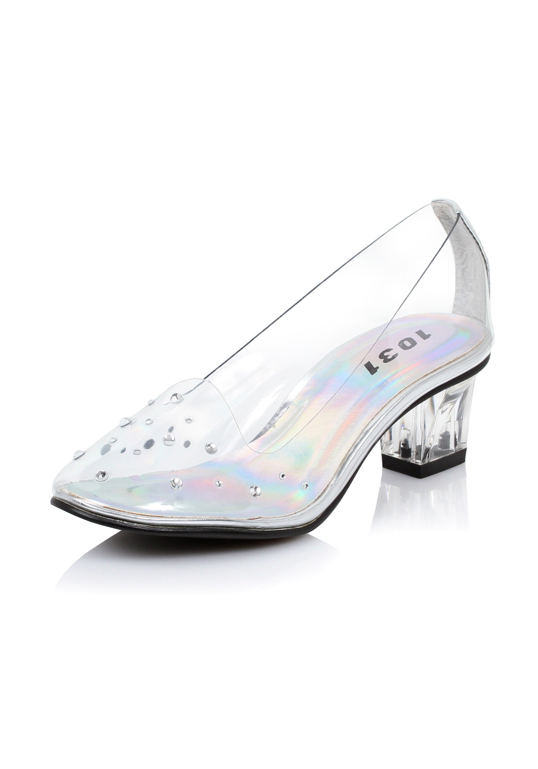 Glass Slippers Shoes For Girls Kids