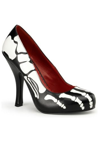 Sexy Scary Skeleton High Heels