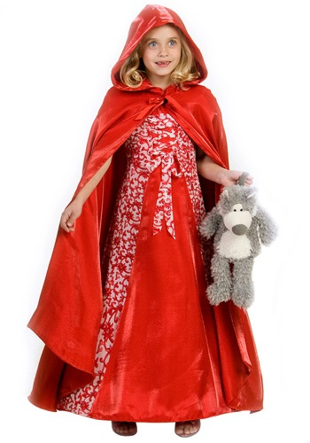 Girls Classic Red Riding Hood Costume
