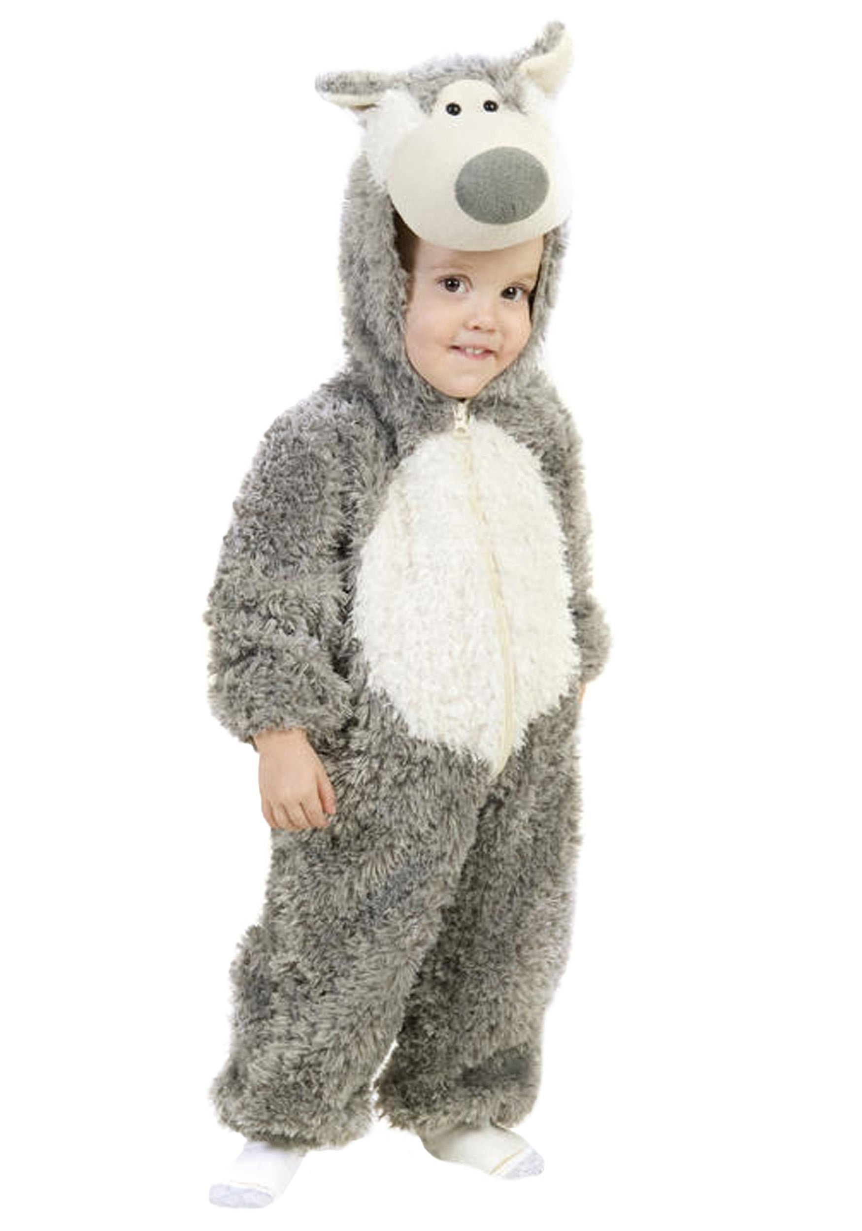 Toddler Wolf Costume  sc 1 st  Halloween Costume Ideas & Toddler Wolf Costume - Big Bad Wolf Costumes Child