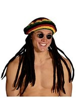 Dreadlock Rasta Hat