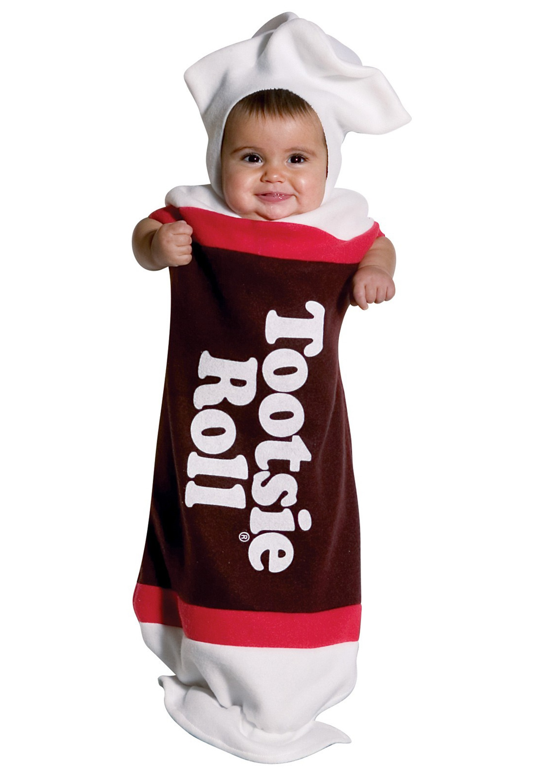 baby tootsie roll costume infant classic candy halloween. Black Bedroom Furniture Sets. Home Design Ideas