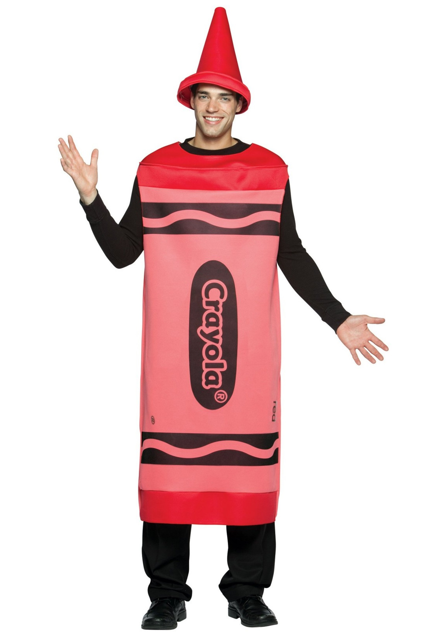 Adult Red Crayon Costume  sc 1 st  Halloween Costume Ideas & Crayon Costumes - Child and Adult Costume Ideas