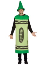 Green Adult Crayon Costume