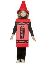 Red Toddler Crayon Costume