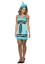 Sexy Sky Blue Crayola Crayon Dress