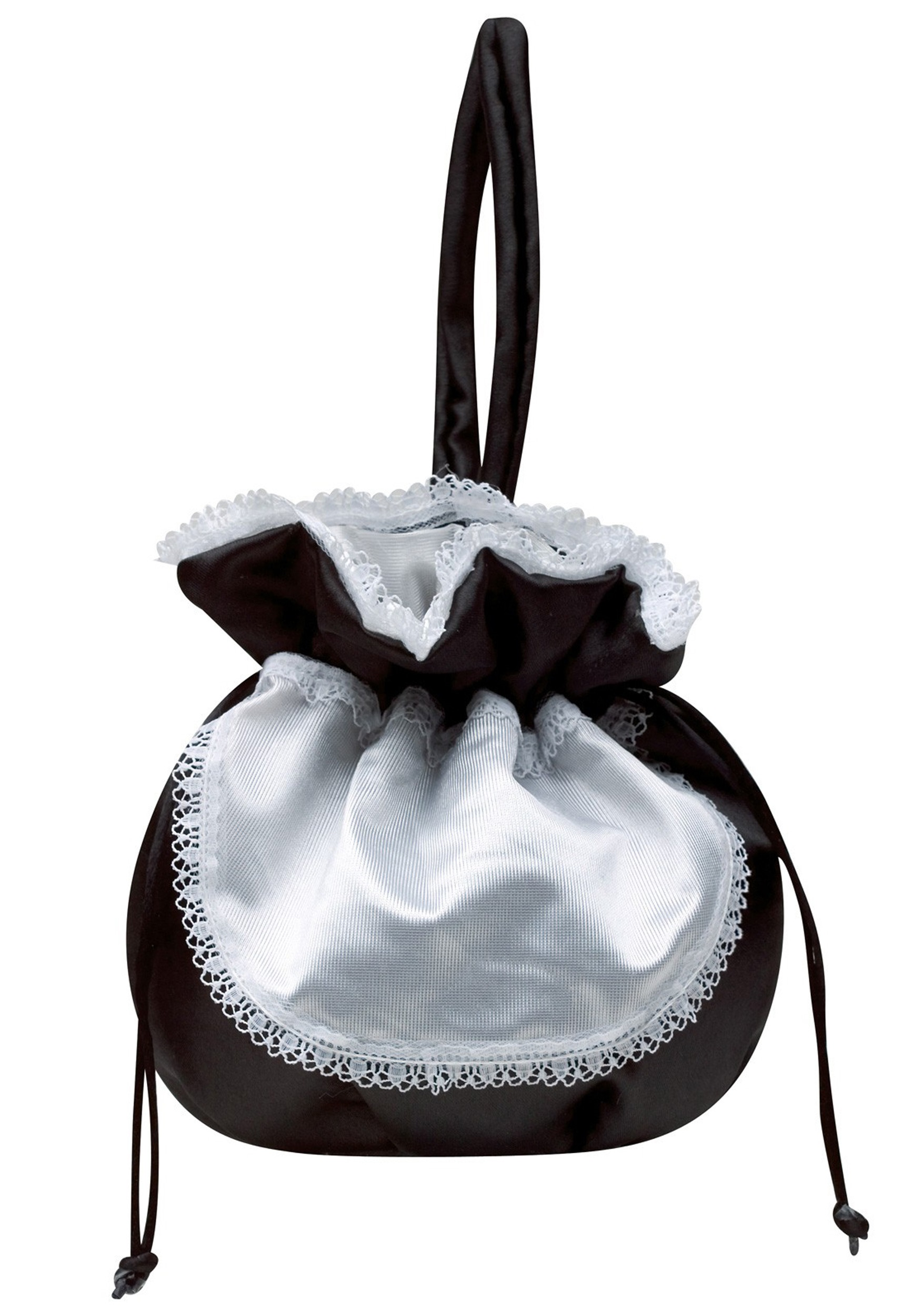 French Maid Handbag - French Maid Costume Accessories