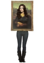 Mona Lisa Portrait Painting Costume