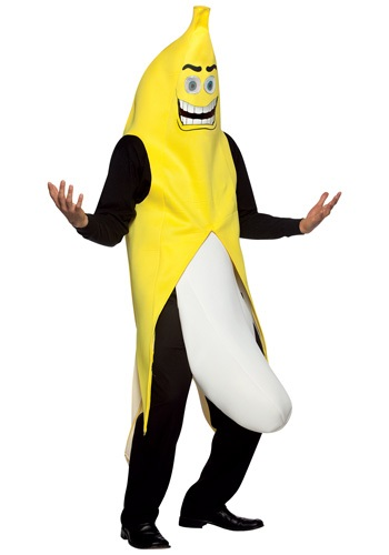 Crazy Banana Flasher Costume