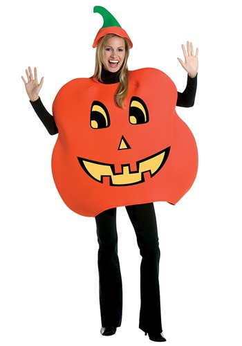 Adult Halloween Pumpkin Costume