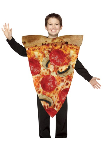 Kids Hot Pizza Slice Costume