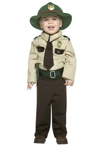 Kids Cop Halloween Costume