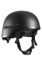 Realistic Black Tactical Helmet