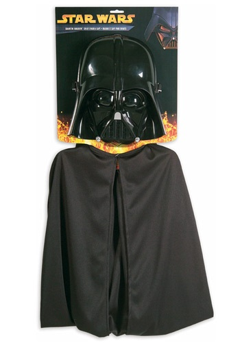 Darth Vader Kids Cape & Mask Set