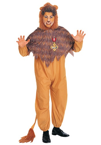 Men's Cowardly Lion Costume