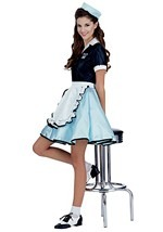 Malt Shop Waitress Costume
