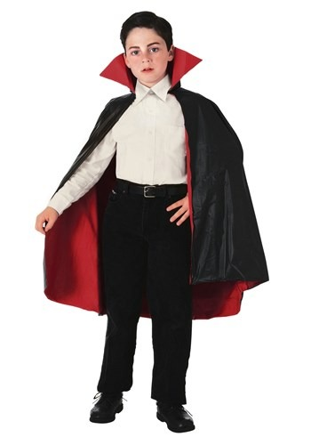 Childrens Reversible Vampire Cape