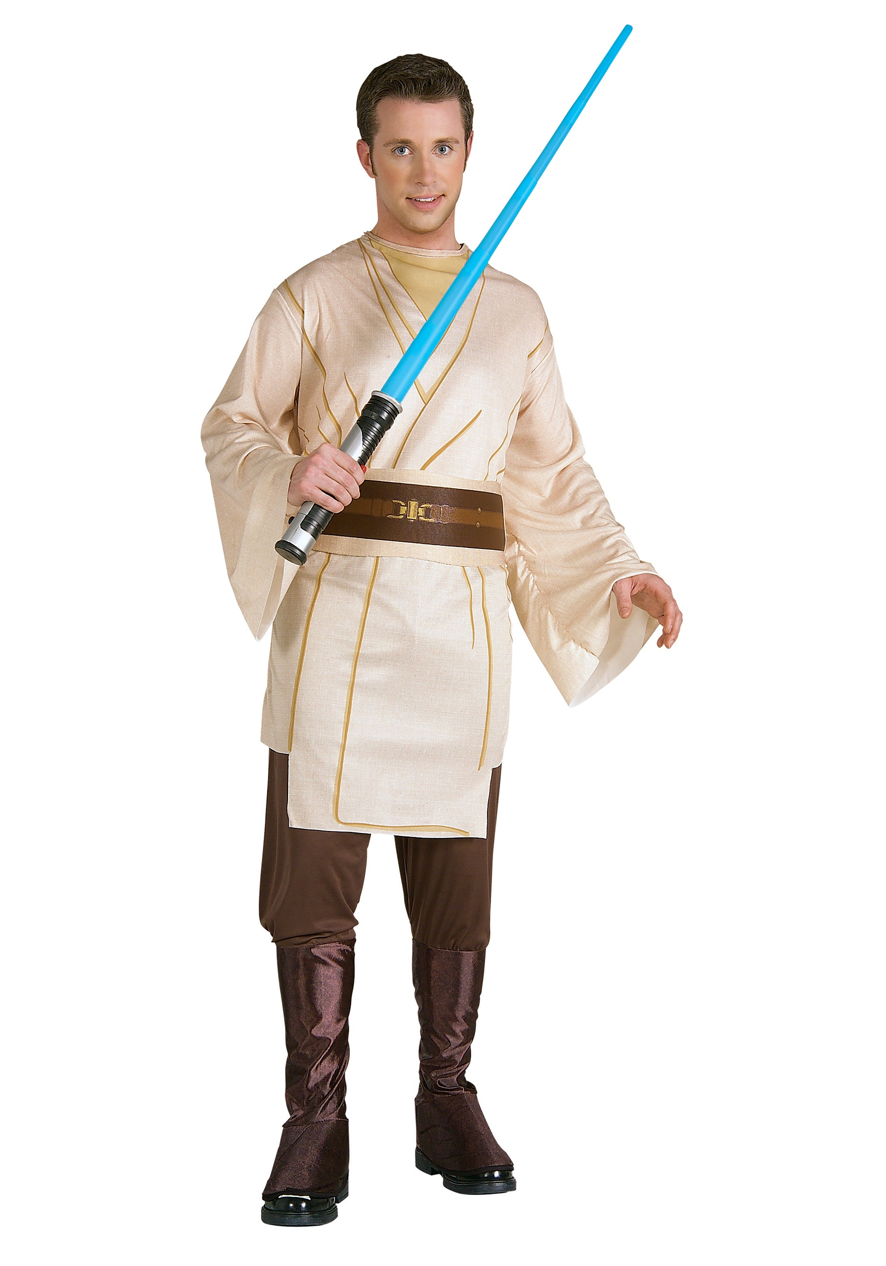 Adult Qui Gon Jinn Costume  sc 1 st  Halloween Costume Ideas : jar jar binks halloween costume  - Germanpascual.Com