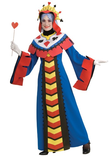 Playing Card Queen of Hearts Costume