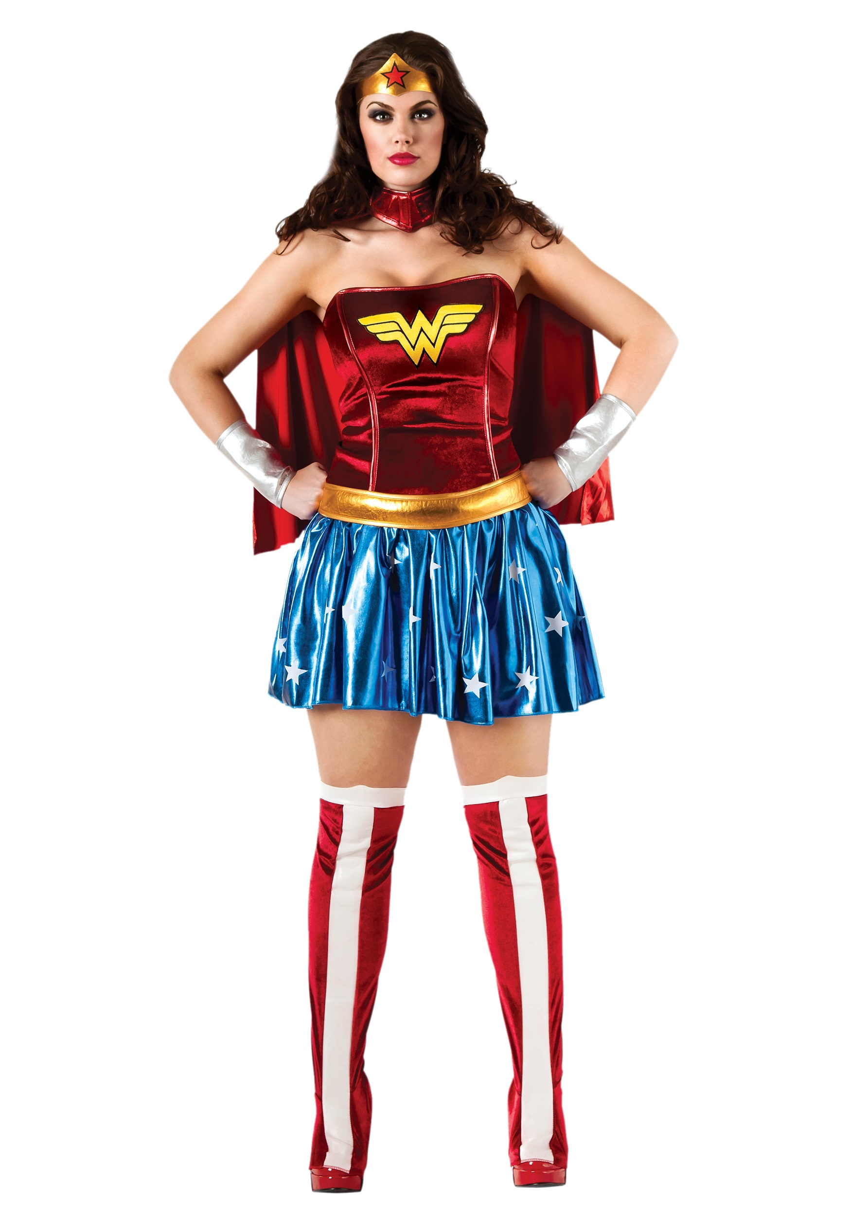 Plus Size Wonder Woman Costume  sc 1 st  Halloween Costume Ideas & Plus Size Wonder Woman Costume - Womenu0027s Superhero Costumes