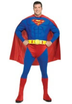Plus Size Superman Costume