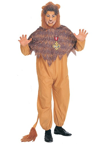 Plus Size Men's Cowardly Lion