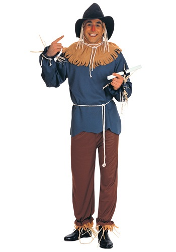 Plus Size Men's Scarecrow Costume