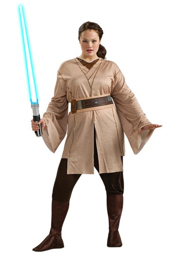 Women's Plus Size Jedi Costume
