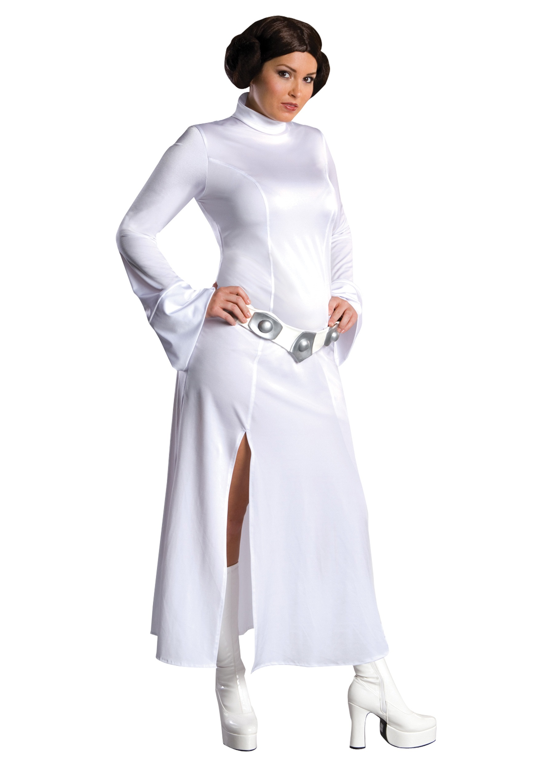 Sexy princess leia plus size costume sexy star wars costumes for Halloween kostuum action