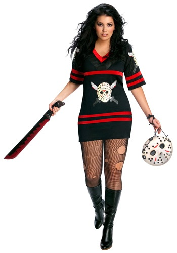 Plus Size Sexy Lady Jason Costume