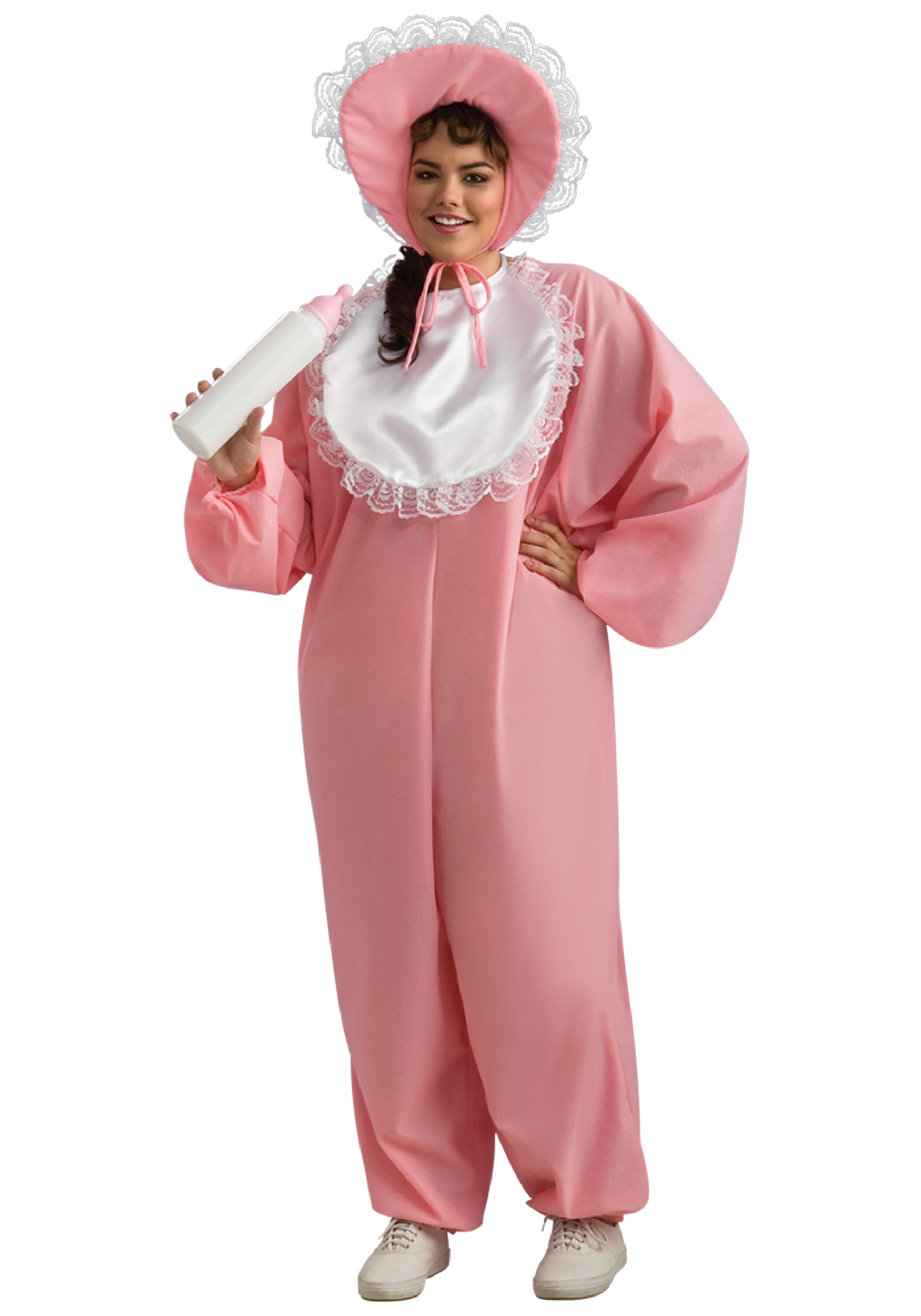 Womens Plus Size New Baby Girl Costume - Adult Baby Costumes 842a33cbc