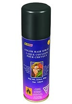 Temporary Black Hair Spray