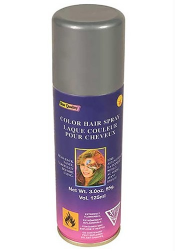 Temporary Silver Hair Spray