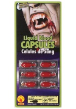 Fake Blood Makeup Capsules
