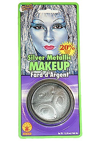 Tin Man Metallic Makeup