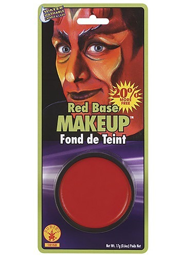 Versatile Red Base Makeup